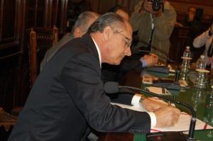 Geraldo Alckmin Faculdade Santa Casa