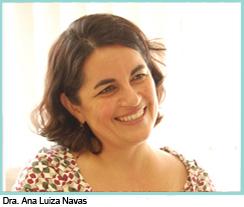 Dra. Ana Luiza Navas - Diretora do Curso de Graduação em Fonoaudiologia da Faculdade Santa Casa de SP