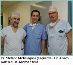 Procedimento cirúrgico transmitido ao vivo