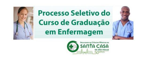 Processo Seletivo de Enfermagem - 2º semestre FCMSCSP