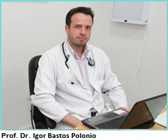Dr. Igor Bastos Polonio, professor instrutor da disciplina de Pneumologia da Faculdade de Ciências Médicas da Santa Casa de São Paulo