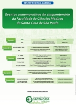 Agenda Comemorativa Faculdade Santa Casa de SP