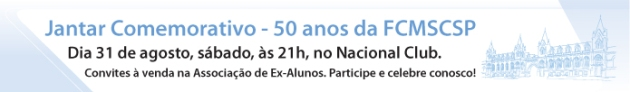 Jantar 50 Anos -  FCMSCSP