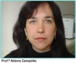 Prof.ª Alcione Campiotto, professora assistente do curso de graduação em Fonoaudiologia da Faculdade de Ciências Médicas da Santa Casa de São Paulo