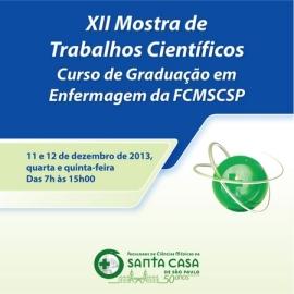 XII Mostra de Trabalhos Científicos FCMSCSP