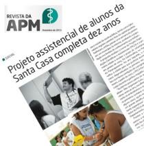 Revista APM - dezembro 2013 - PECA Projeto Expedições Científicas e Assistenciais