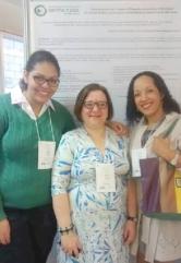 Da esq. p/ a dir.: Ana Paula Neves, Dra. Maria Angela Reppetto e Rosilene do Espírito Santo