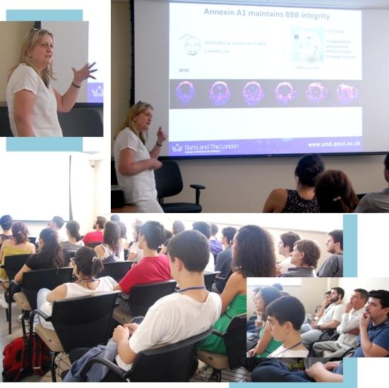 Palestra com Dra. Egle Solito 13102014 Faculdade Santa Casa de SP