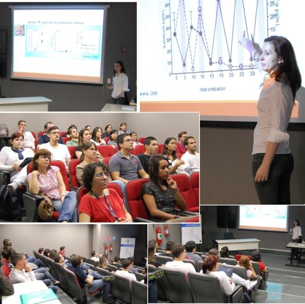Leticia D'Argenio Garcia, biomédica e mestranda em Fisiologia Geral