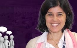 Dra. Marta Assumpção de Andrada e Silva, professora do curso de  Graduação em Fonoaudiologia da  FCMSCSP