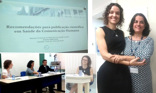Érica de Cássia Ferraz e Dra. Ana Luiza Navas