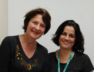 Dra. Regine Kolinsky e Dra. Ana Luiza Navas
