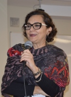 Prof.ª Kátia de Almeida,vice-diretora do curso de Graduação em Fonoaudiologia