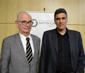 Prof. Dr. Otto Dörr Zegers e o Prof. Dr. Guilherme Messas