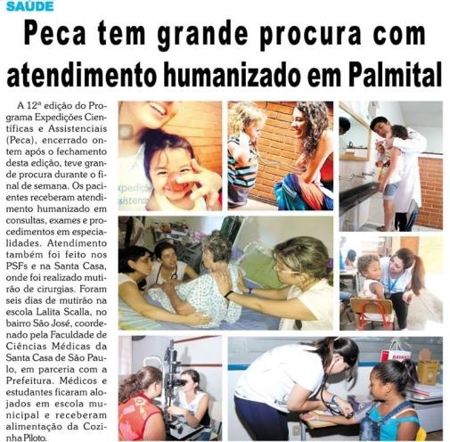 PECA_Faculdade_Santa_Casa_de_SP_2016_Palmital