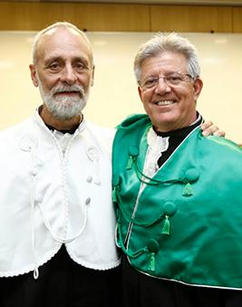 Prof. Dr. Paulo Carrara e Prof. Dr. José Eduardo Lutaif Dolci