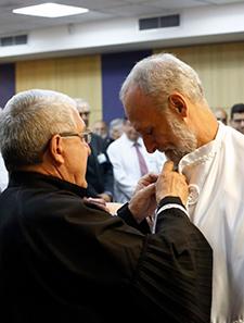 Prof. Dr. Valdir Golin e Prof. Dr. Paulo Carrara